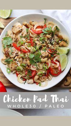 Easy Delicious Recipes, Paleo Recipes, Asian Recipes, Dinner Recipes, Paleo Dinner, Lunch Recipes, Drink Recipes, Yummy Food, Paleo Whole 30