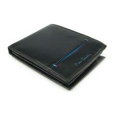 Luxusní černá pánská peněženka z jemné kůže - peněženky AHAL Money Clip, Wallet, Leather, Money Clips, Purses, Diy Wallet, Purse