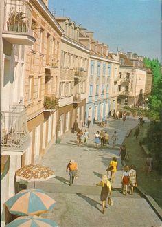 Białystok '70s Rynek Kościuszki fot. A. Chmielewski
