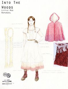 Into the Woods (Little Red/Rapunzel). McCarter Theatre/Old Globe/Roundabout Theatre. Costume design by Whitney Locher.