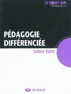 Sabine Kahn essaie de nous mettre au clair avec le concept fourre-tout de « pédagogie différenciée ». Si l'institution multiplie les injonctions à la pratiquer, sur le terrain, les vraies pratiques de différenciation restent rares. Il s'agirait de concevoir son enseignement en sachant qu'un gros effort d'explicitation est à faire, en adaptant consignes, tâches à un public qui, d'emblée, n'a pas saisi les codes de l'école, une pédagogie explicite qui repose sur des activités réflexives.