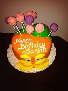 Lorax Cake 2