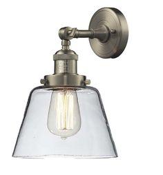Varaluz B Lofty Single Light Wide Recycled Material Wood - Single light bathroom wall sconce