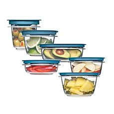 image of Rubbermaid® Flex & Seal™ Food Storage Containers with Easy Find Lids