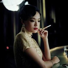 Taiwanese actress Shu Qi in 'Blood Brothers'....