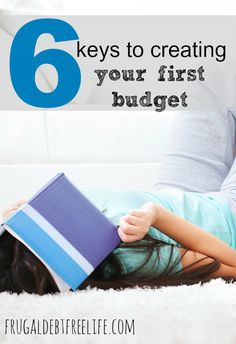 Budgets don't have to be boring or restrictive or something you dread. In fact, they can be very freeing when you know where your money is going. Here are 6 steps to creating your first budget.