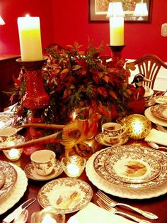 14th Tablescape Tuesday ( Later Became Tablescape Thursday )