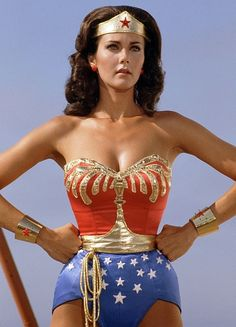 Wonder Woman - my fave superhero, a mix of mythological and super powers. I dressed up as her in grade 3.