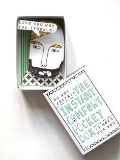The Instant Comfort Pocket Box - bearded bloke