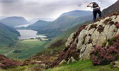 Lake District in Cumbria in the north of England