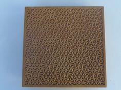 Cuadro talla geométrica. Jorge Romero Tenorio