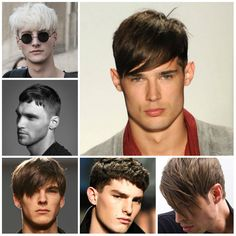 Männer Frisuren mit Pony