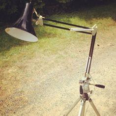 Upcycled Lamp + camera tri-pod by Fransar  blogger-image-1926703001.jpg 480×480 pixels
