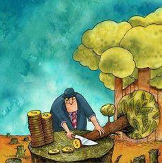 #karikatür #çevre #doğa