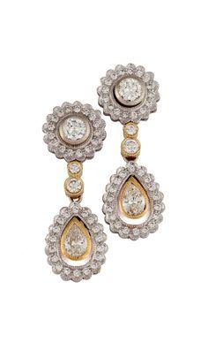 GALACIA DESIGNER JEWELERY- Diamond earrings.