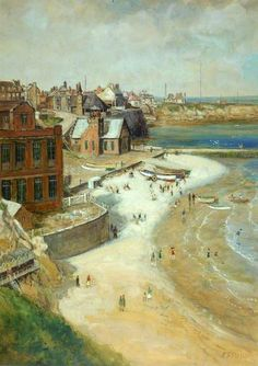 John Falconer Slater Cullercoats, Northumberland - The Largest Art reproductions Center In Our website. Low Wholesale Prices Great Pricing Quality Hand paintings for saleJohn Falconer Slater Durham City, North Shields, Somewhere In Time, North East England, Fishing Villages, Historical Pictures, Live In The Now, Large Art, Newcastle