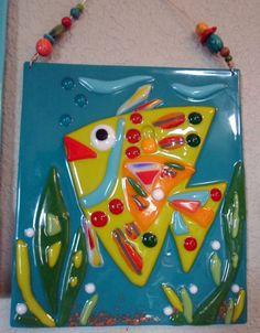 Beach Decor Angel Fish Fused Glass Art Plaque by jodysart on Etsy Angel Fish, Fused Glass Art, Etsy, Ideas, Unique Jewelry, Handmade Gifts, Inspiration, Beach, Vintage