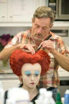 Queen of Hearts in makeup