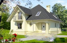 Casă de vis cu mansardă in suprafată de 78 m²