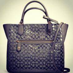 Sparkly Coach Bag