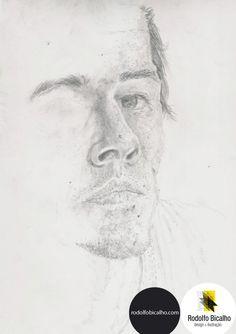 Desenho - Lápis by Rodolfo Bicalho, via Behance