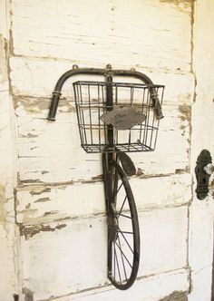 Vintage Bicycle Wall DecorBicycle Wall by ColorfulCastAndCrew