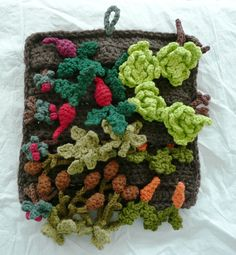 Vegetable Garden Playmat