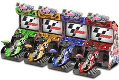 MotoGP Arcade Motorcycle Simulator Video Game From Raw Thrills