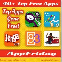 Another TOP APPFRIDAY with over 40 Free Apps for Kids! Get ready to download we have 21 apps for education with apps for Math, Literacy and ...