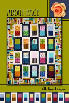 About Face Quilt Pattern by Villa Rosa Designs