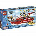 Lego City Fire Boat  $59.99