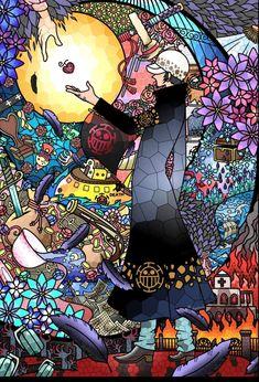 Zoro One Piece, One Piece Ace, One Piece Fanart, Manga Anime One Piece, Anime Manga, Anime Art, One Piece Pictures, One Piece Images, Doflamingo Wallpaper
