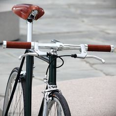 Racing Green Metallic Singlespeed by mrjohan, via Flickr