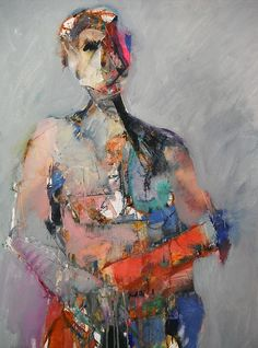 Abstract Figure With Pink by Dan Boylan