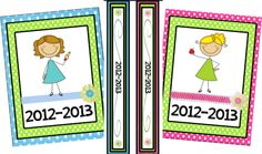 Classroom Freebies Too: Binder Covers!
