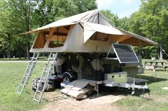 Home Built Camper Trailer