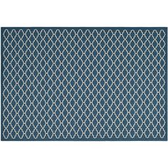 Safavieh Courtyard Indoor Outdoor Rug, Blue