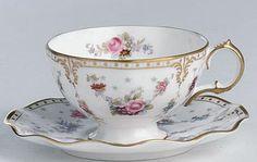 teac cup royal crown derby royal antoinette