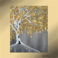 gold trees painted on canvas - Yahoo Search Results Yahoo Image Search Results