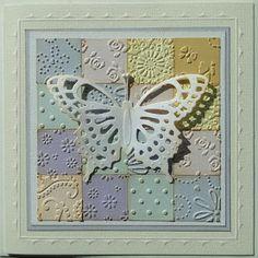 Creaties met Papicolor papier: Allemaal vierkantjes