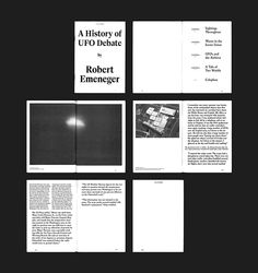 the-book-design:  UFO: AN EXPANDING ARCHIVE www.stefmichelet.be