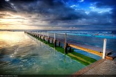 The North Narrabeen Rock Pool was built in the and is one of the largest rock pools in Sydney. Rock Pools, Nice View, Beautiful Beaches, The Locals, Coastal, National Parks, Ocean, Australia, Landscape