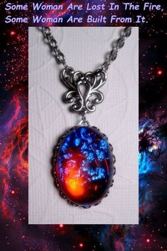 Dragons Breath Necklace  Mexican Opal by FashionCrashJewelry