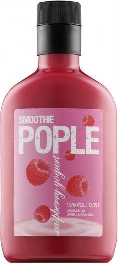 Lignell&Piispanen Pople Smoothie Raspberry Yoghurt 15% 50cl PET