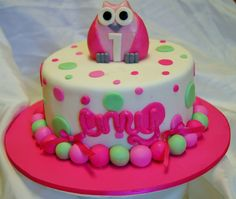 ev Next In community album: Children's Birthday Cakes Birthday Cakes, Cake Recipes, Owls, Jay, Desserts, Community, Album, Food, Food Cakes