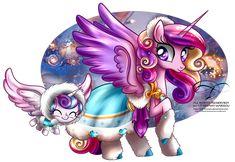 My Little Pony Games, My Little Pony List, My Little Pony Twilight, My Little Pony Drawing, My Little Pony Pictures, Mlp My Little Pony, My Little Pony Friendship, Flurry Heart, Princess Cadence
