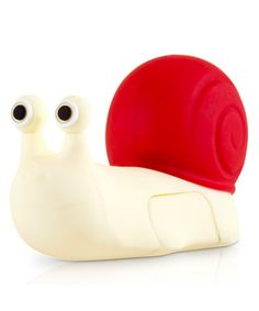 Another great find on #zulily! Red & White Snail 8GB USB Drive & Changeable Cover by Bone #zulilyfinds