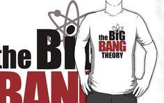"""The Big Bang Theory T-Shirt"" T-Shirts & Hoodies by Christina James | Buy at: http://www.redbubble.com/people/chrisjames33/shop/"