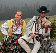 Folk costume from Zakopane (Podhale region), Poland.