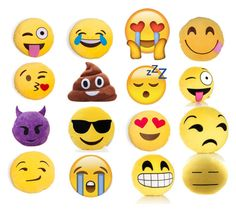 """""""Emoji Pillows"""" by presshandstand12 ❤ liked on Polyvore featuring interior, interiors, interior design, home, home decor and interior decorating"""